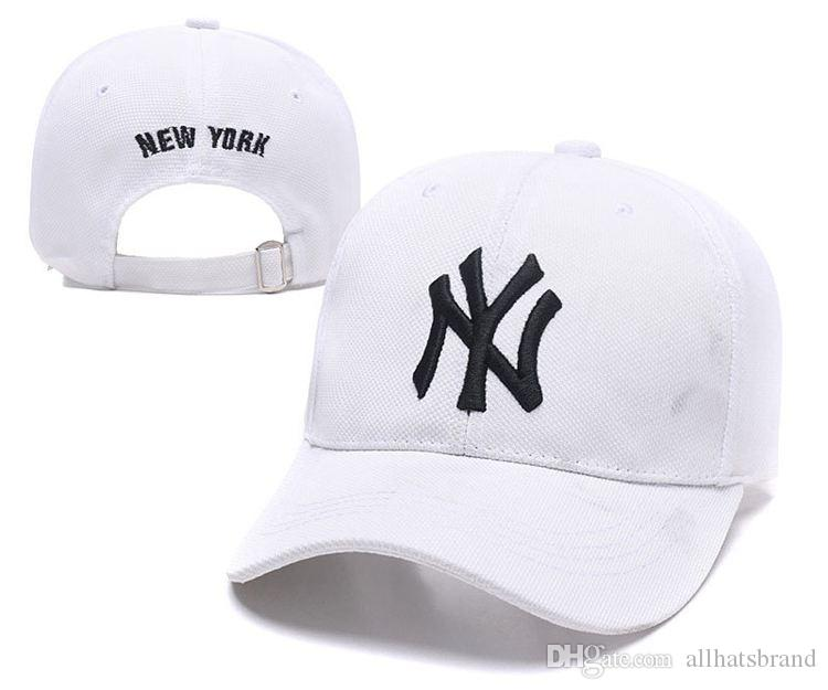 7b68a03da52 2018 New Women NYC Baseball Caps Hats NY Snapback Caps Cool Hip Hop Hats  Cotton Adjustable Brand Caps Summer Sun Shade Hats Custom Baseball Hats  Army Hats ...