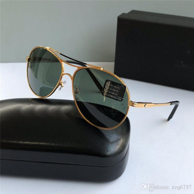 adc80ecbbdbf New Fashion Designer Sunglasses 703 Classic Pilot Frame Top Quality ...