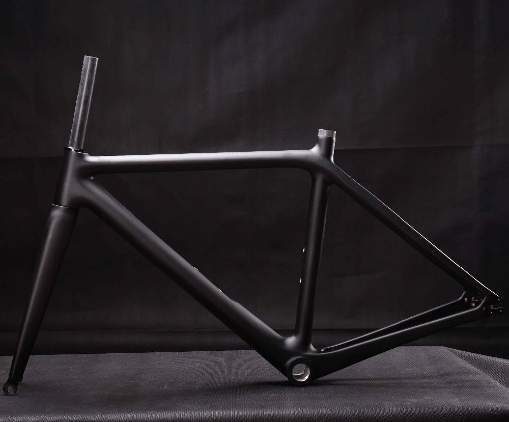 Miracle Hot Sell Full Carbon Fiber Fixed Gear Bike Frame Single