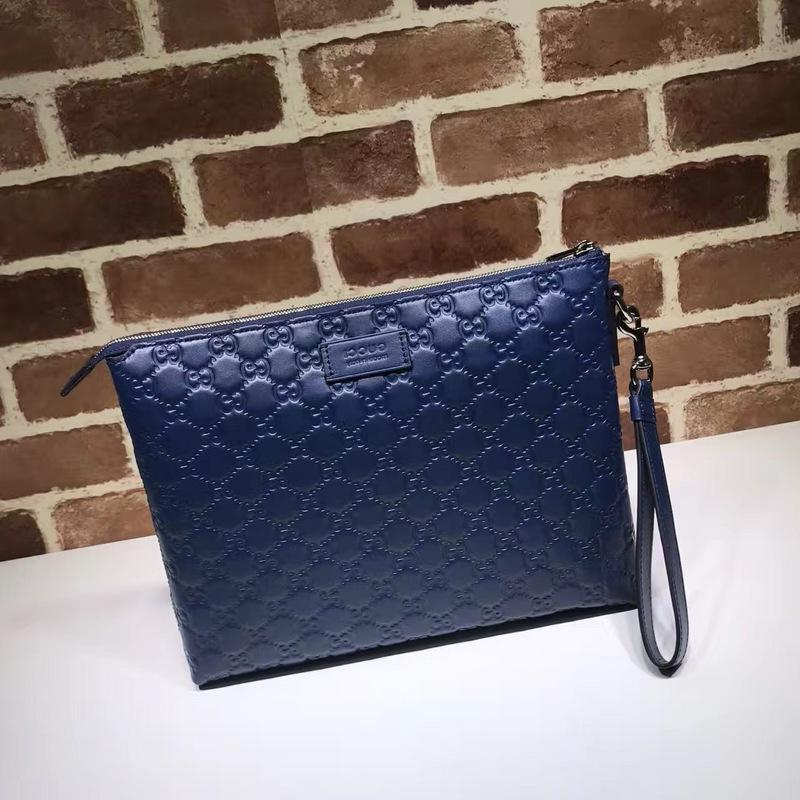 Top Quality Design Letter Embossing Large Cluth Fashion Purse Bag Genuine Leather 473881 Handbag