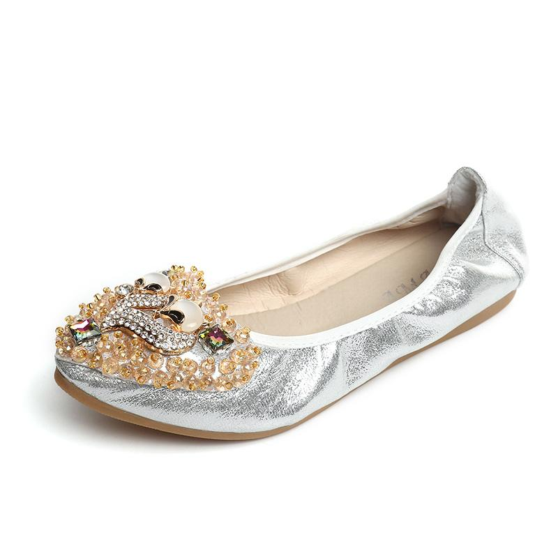 39615605d Bling Rhinestone Flats Women Shoes Woman Leisure Spring Butterfly Ballerina  Ladies Shoes Female Soft Shiny Crystal Casual Platform Shoes Hiking Shoes  From ...