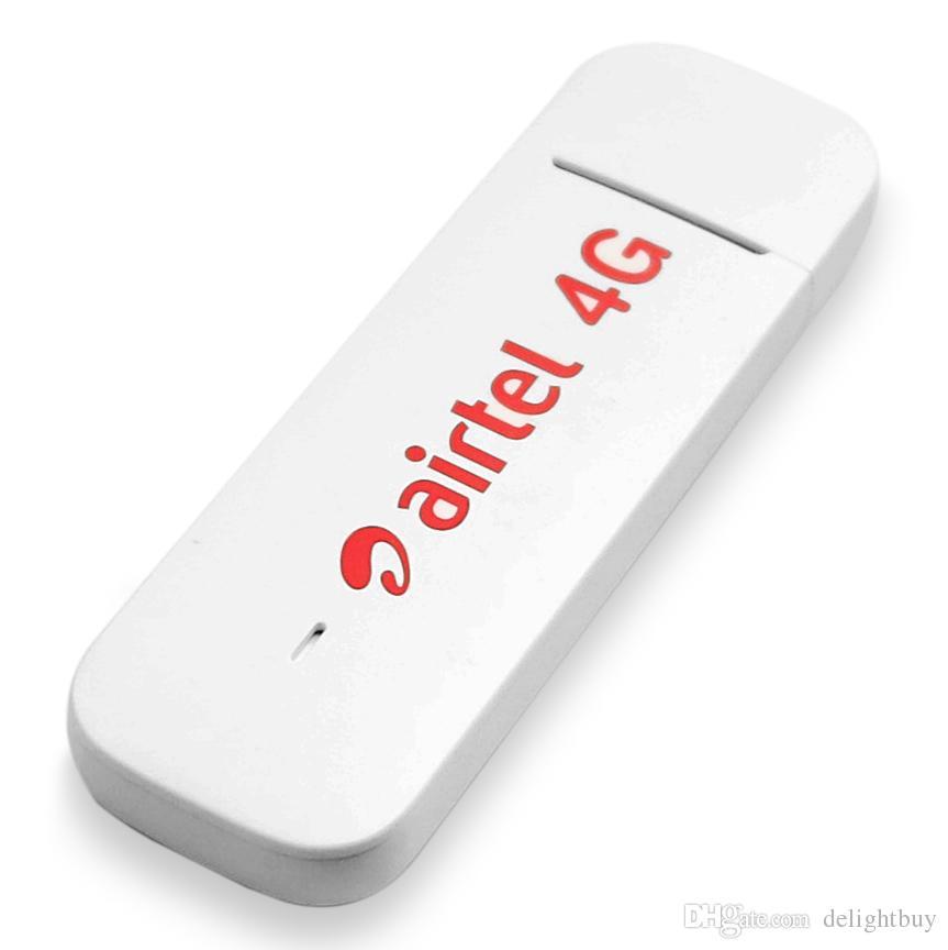 Desbloqueado Huawei E3372 E3372h-607 4G LTE 150 Mbps Modem USB Suporte USB  Dongle Todos Banda 2 pcs CRC 4G Antena