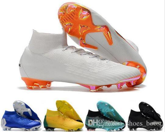 Sneakers Wholesale Best Quality Soccer Shoes Superfly Vi 360 Elite Fg Football Boots Cleats For Mens Fashionable Patterns