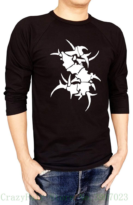 6216a125e Sepultura Metal Band Logo Baseball Tee Raglan 3 / 4 Sleeve Men's T Shirt  Male Designing T Shirt