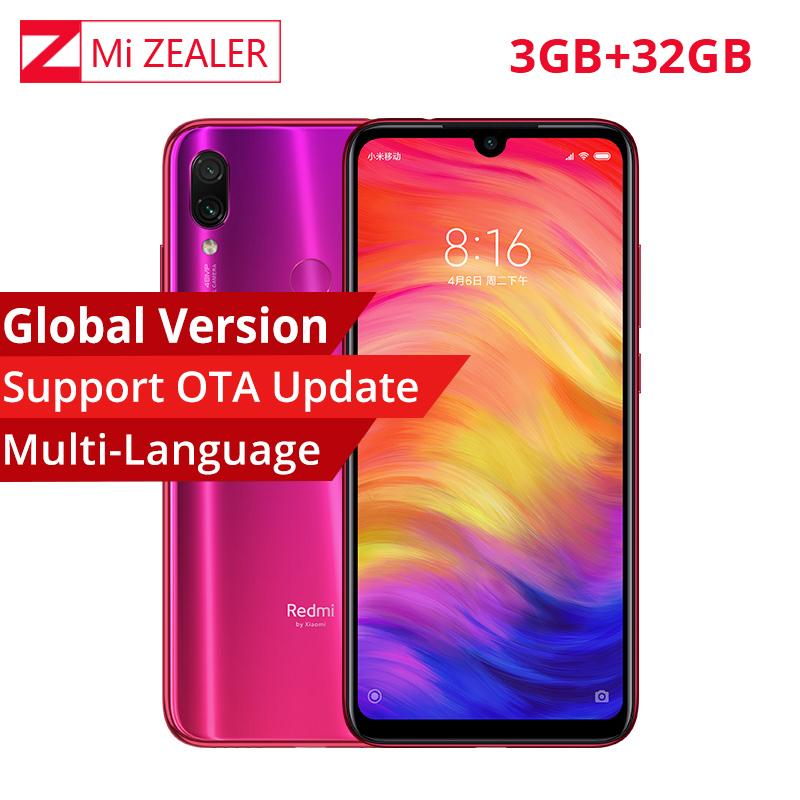 e1026cde4f9 Best Global Version Xiaomi Redmi Note 7 Telephone 6.3 Inch 3GB 32GB  Snapdragon 660 Octa Core 4000mAh 2340 X 1080 48MP Dual Camera The Smart  Phone Company ...