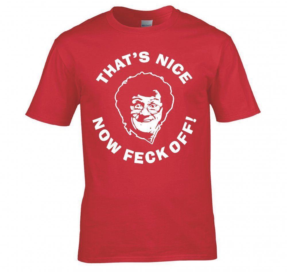 Mrs Brown Thats Nice Now Feck Off Funny Boys T Shirt