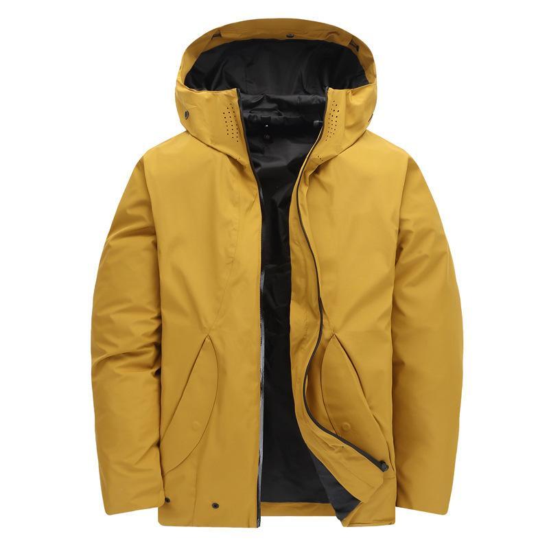 11e5c53d87b9 2019 New Men Winter Inner Fleece Waterproof Jacket Outdoor Sport Warm Brand  Hiking Trekking Skiing Male Jackets Two Piece Suit