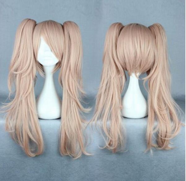 FREE SHIPPING + Super Danganronpa 2 -Junko Enoshima female Style Anime  Cosplay Wig
