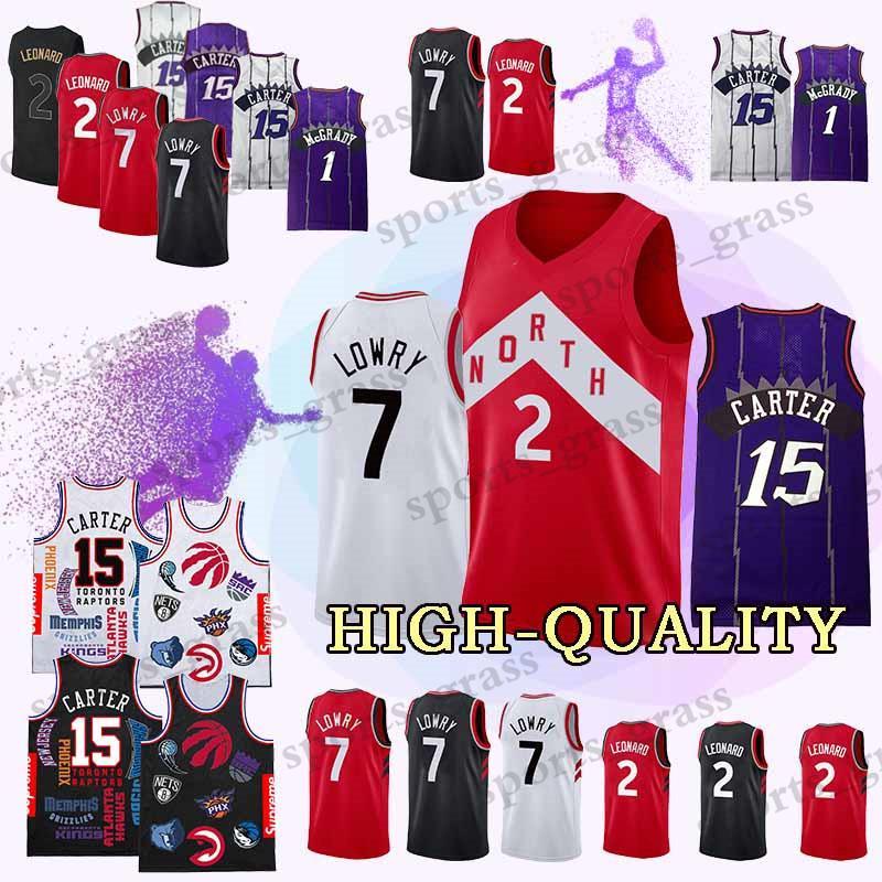 428cd63c3 Sup Adult Shirt Toronto 2 Kawhi Vince Leonard Jerseys Raptors 15 ...