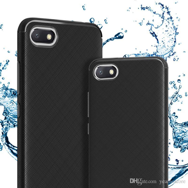 Shockproof TPU Silicone Case for Xiaomi Redmi 6 6A Redmi 6 pro Mi A2 lite 5  plus Soft TPU Cross Texture Back Case