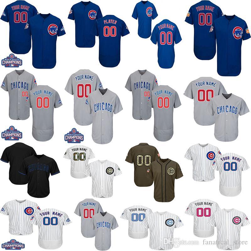 watch 235aa 11489 Customized Chicago Cubs Baseball Jerseys Men Women Toddlers Kris Bryan  Jersey Anthony Rizzo Javier Baez Ryne Sandberg Jersey