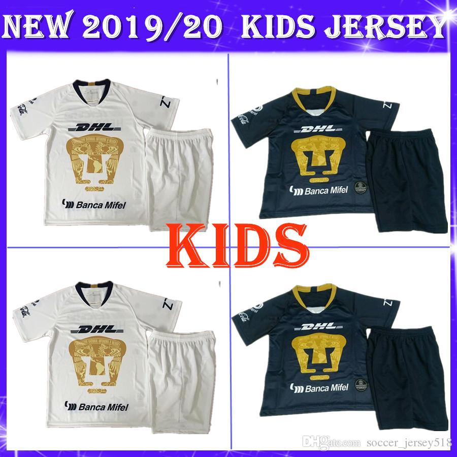 a97c8468465 2019 Cougar Kids Kit 2019 Club America Tigres Soccer Jersey Home ...
