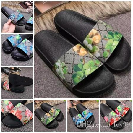 a828ebf4b830a Slippers Sandals Designer Slides Designer Shoes Animal Design Huaraches  Flip Flops Loafers For Men and women by toy99 G08 1-9