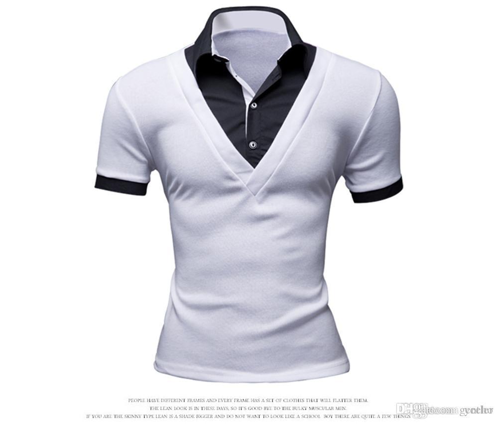 Mens Polo Shirt Brands 2017 Male Short Sleeve Fashion Casual Slim