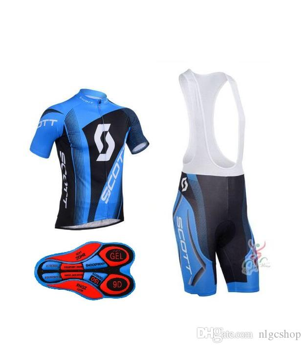 2018 Men Sports Cycling Jersey Bike Short Sleeve SCOTT Cycling Clothing Kit  Road Bicycle Team Jersey Maillot Ciclismo Bike Gear Giordana From Nlgcshop d1c43a324