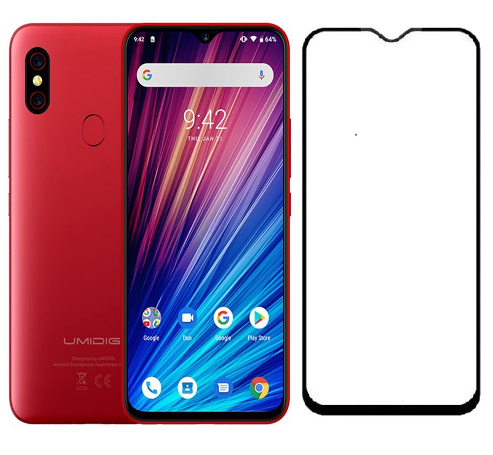 For Umidigi S3 Pro One Max Full Screen Silk Screen Tempered