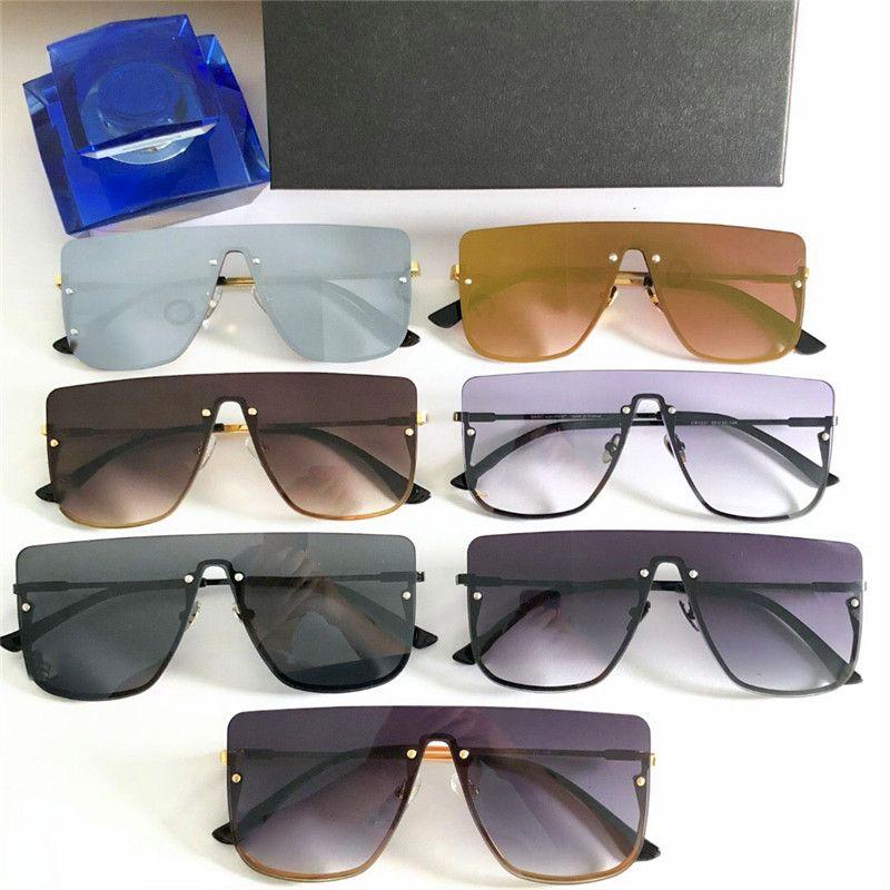 6cdd41f154 New Fashion Designer Sunglasses 1231 Frameless Square Frame Popular ...