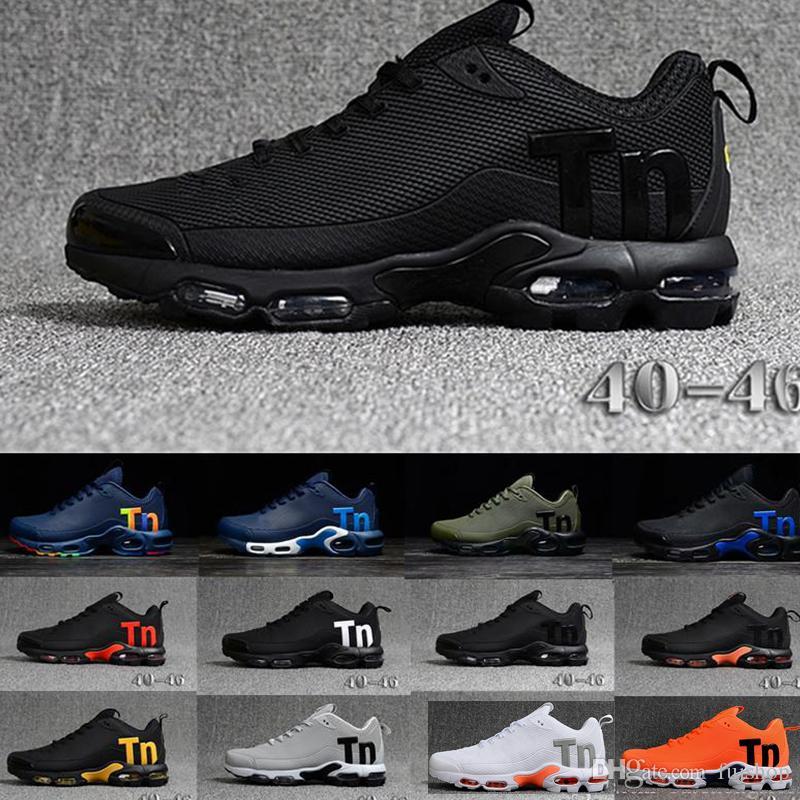 nike air max Off white Flyknit Utility TN Plus Chaussures De Course De Mode Arc En Couleur Colorfull Hommes Designer Baskets Chaussures Hombre Tn