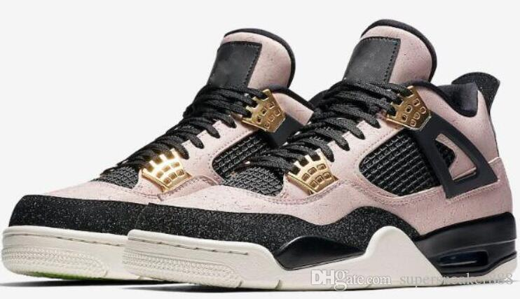 High Quality 4s Air Sale Retro 2019 Sale J4 Mens Basketball Designer 4 Shoes For Men Casual Sports Updated Pink Golden is Coming 02