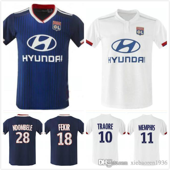 72b55957201 2019 1 Thailand 2019 Olympique Lyonnais Soccer Jersey 19 20 Maillot ...