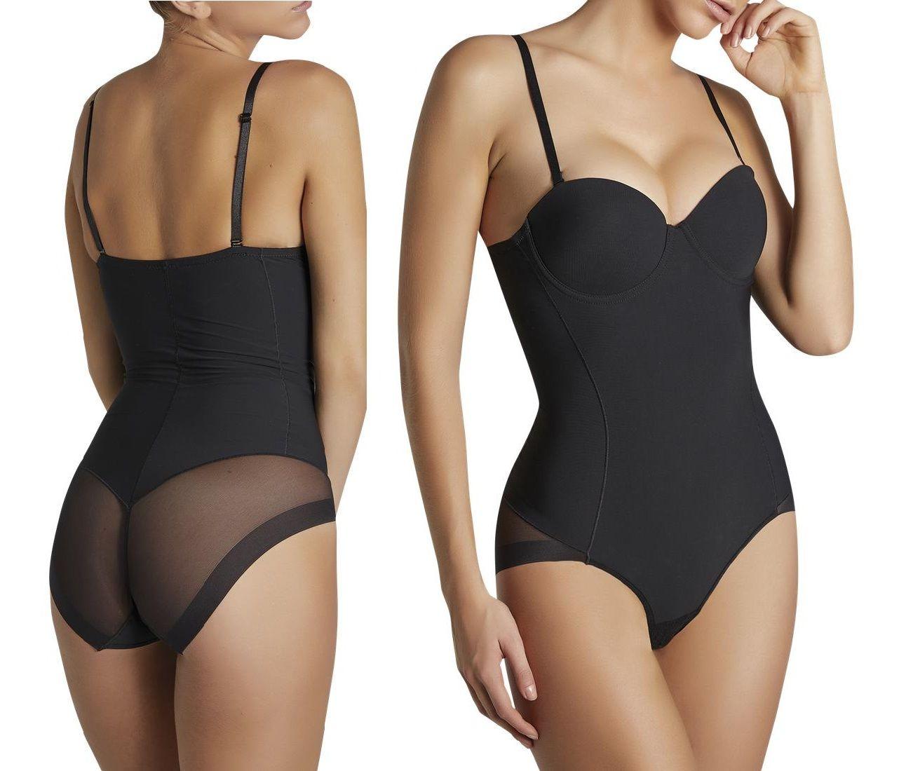 9742301f121 2019 Amazon Hot Selling Ladies Full Body Shaper Padded Bra Bodysuit Open  Crotch Corset Slimming Shaper From Critylin