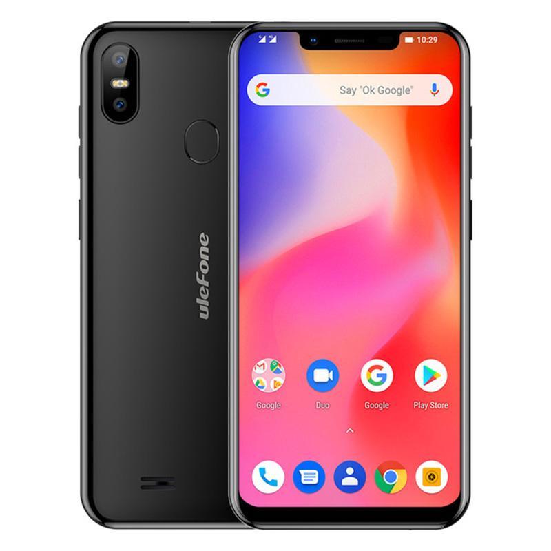 Ulefone S10 Pro Mobile Phone 5 7 inch 19:9 MT6739WA Quad Core 2GBRAM  16GBROM 13MP 5MP Unlock Android 8 1 4G Smartphone
