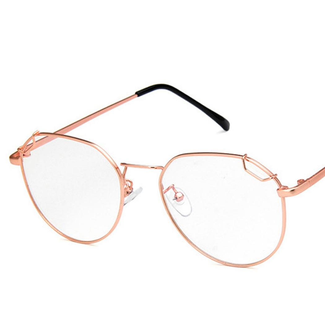 bd3f86a38 2019 Clear Lens Eye Glasses Frame 2019 Fashion Spectacles Optical  Eyeglasses Frame Round Metal Eyewear For Men Women Fake Metal Glass From  Marquesechriss, ...