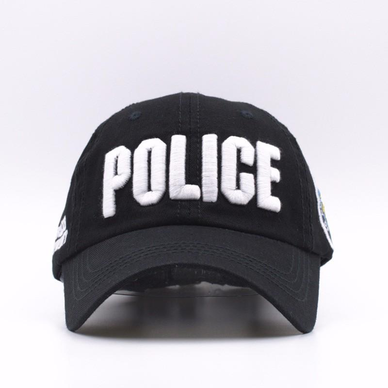 Cotton Police Baseball Cap Fashion Snapback Caps Adjustable Sports Hat  Outdoor Sunshade Cap Cheap Hats Richardson Caps From Qupeng9165 c23ed214d74
