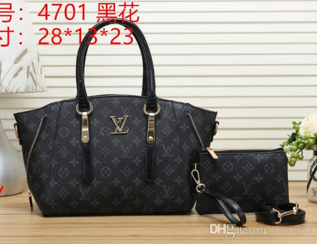740cd3f2b7 LOUIS VUITTON New Shoulder Bags Leather Handbags Wallets High Quality For  Women Bag Totes Messenger Bags Cross Body