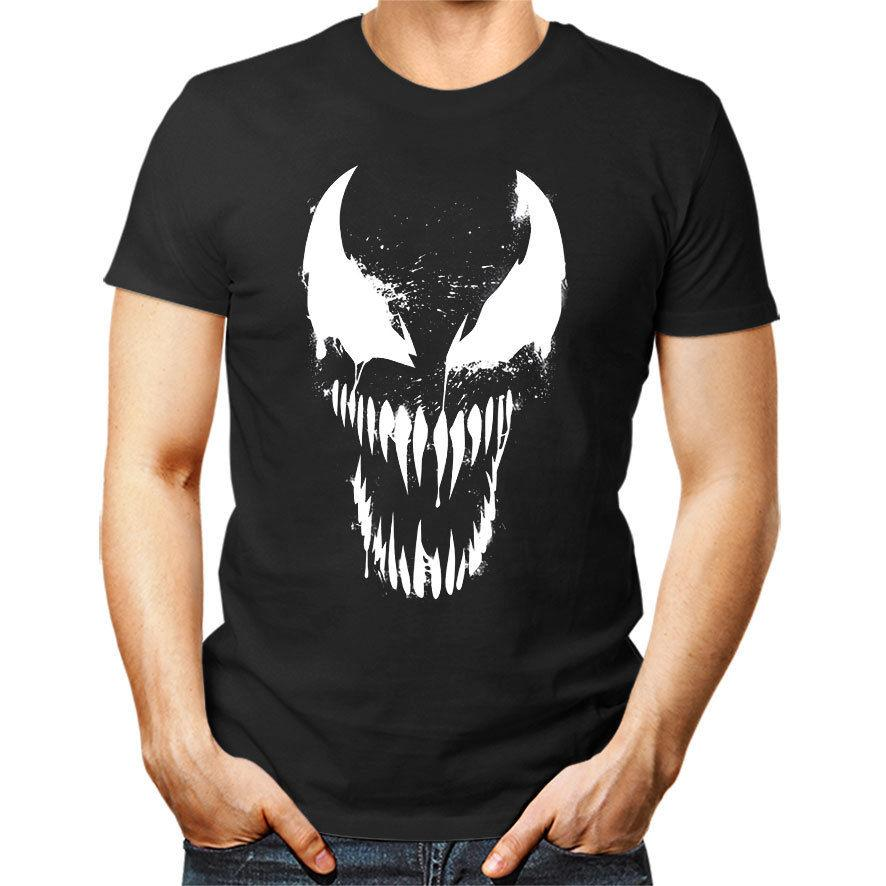 d4a0c22bf Compre VENOM Camiseta Unisex Mujer Hombre Regalo Camiseta Top Spiderman  Scary A  11.63 Del Integritybusiness59