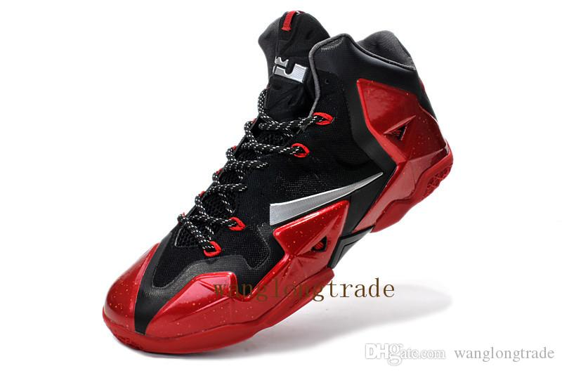 e3c79853840 2019 James 11 Th Generation Combat Men S Basketball Shoes Gray Outdoor Shoes  Lebron 11 Basketball Shoes Sports Size Us 7 Us 12 From Wanglongtrade