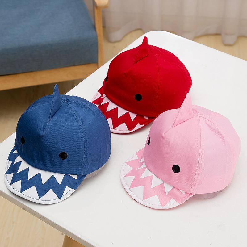 63e902b09 Compre Baby Shark Gorra De Béisbol 2019 Primavera Verano Moda Bola Gorras  De Algodón De Dibujos Animados Para Niños Novedad Sun Hat B11 A  3.08 Del  ...
