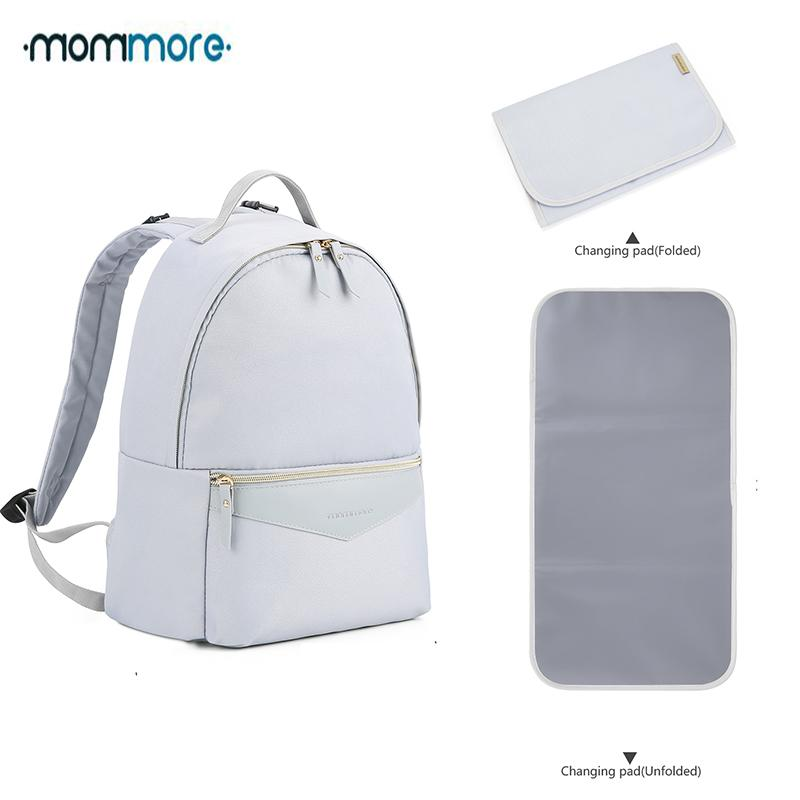 9e6c95868610f 2019 Mommore Diaper Backpack Waterproof Travel Diaper Bag With ...