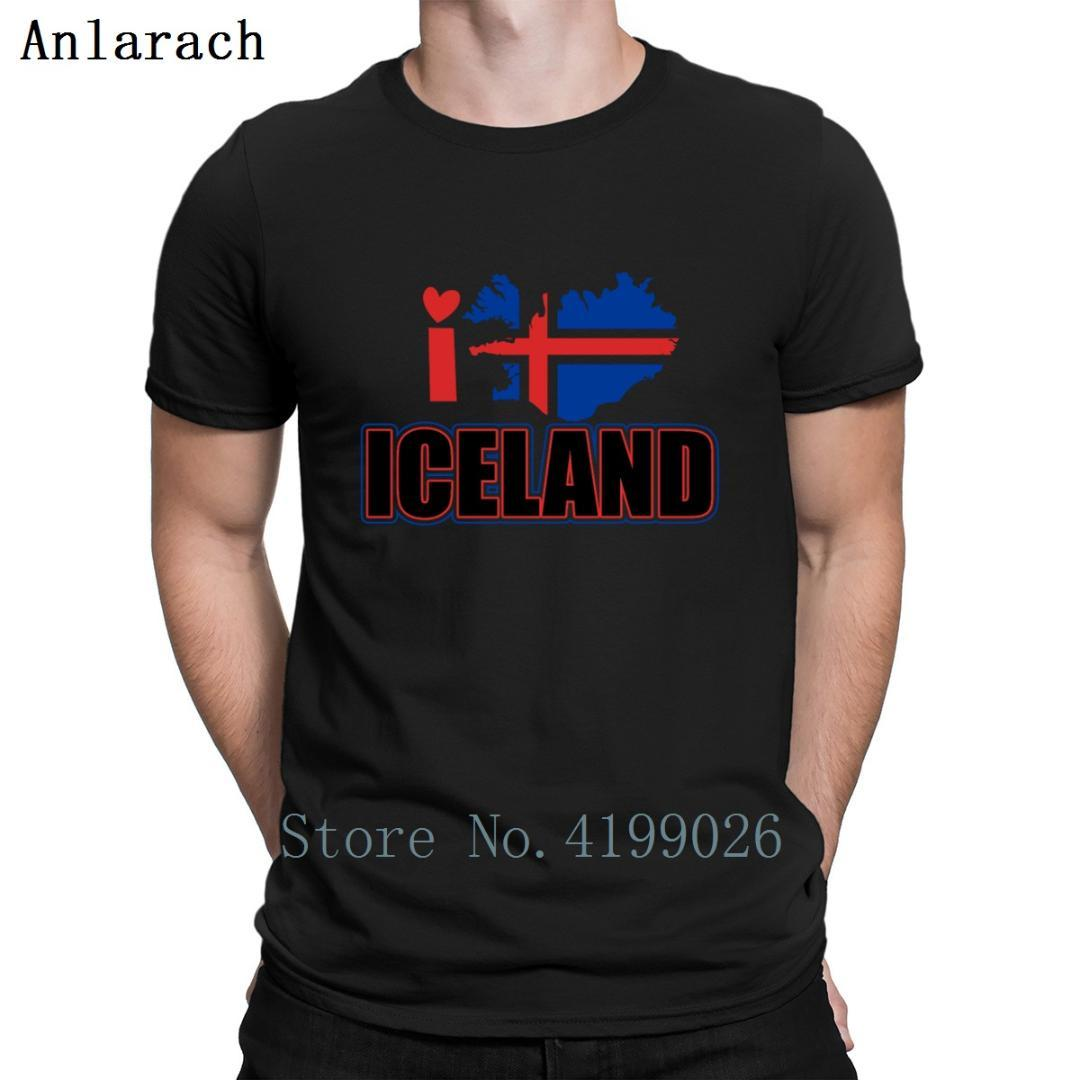 9311e7214 Iceland Shirt T Shirt Knitted Top Tee Super Novelty Hip Hop Awesome Cheap  Sale Mens Fashion Summer 2019 Urban T Shirt Making Companies 7 T Shirt From  ...