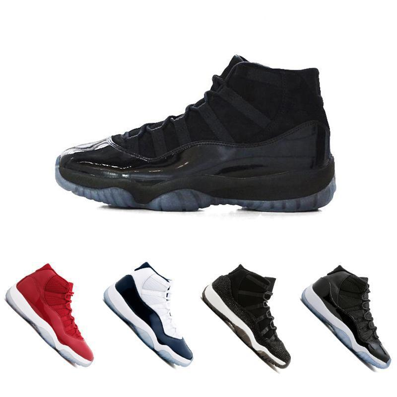 11 Gym Red Chicago Midnight Blu navy Concord 45 96 Space Jam PRM Heiress allevato uomo donna Scarpe da basket Scarpe da ginnastica sportive