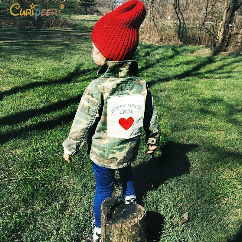 Baby Girls Boys Jackets Cardigan 2019 Fashion Spring Autumn Camouflage Coats Army Children's Windbreaker Outerwear