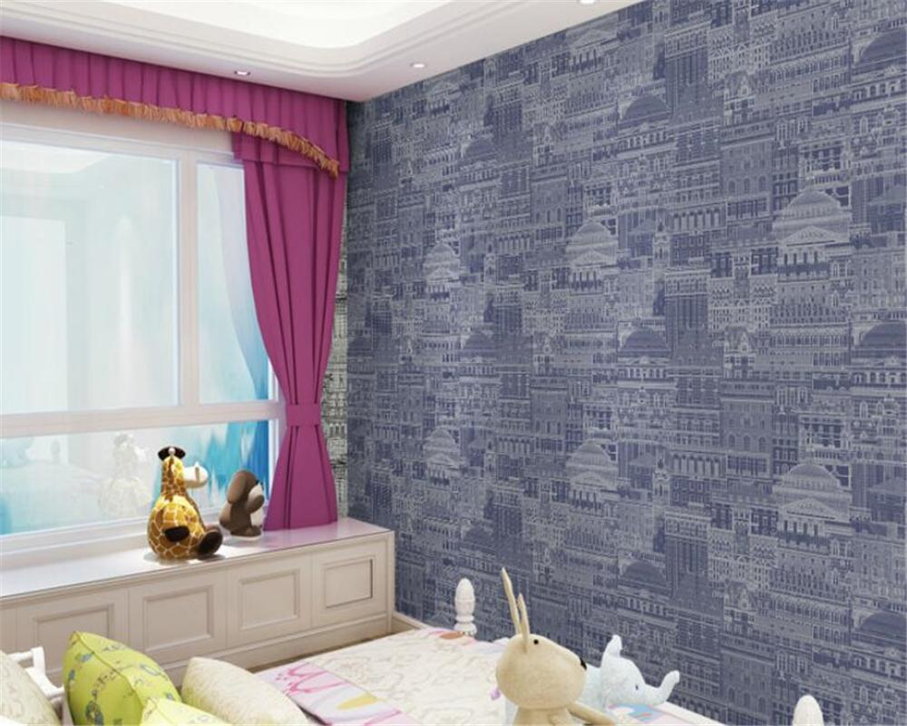 3d wallpaper home decor Featured clothing store PVC home decoration paper paint mural 3d wallpaper for kids room decoration
