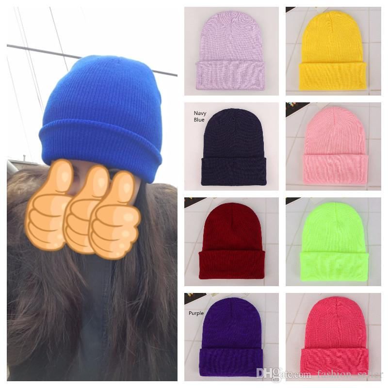 5ed431df4f976 2019 Winter Hats Women New Beanies Knitted Solid Cute Hat Girls Autumn  Female Beanie Caps Warmer Bonnet Ladies Casual Cap Headwears From  Fashion seller