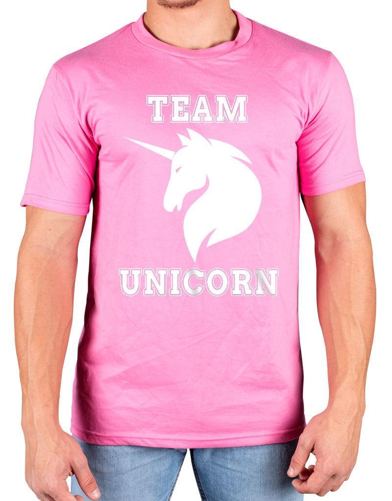 e4a593610d Team Unicorn Funny Slogan T-Shirt Central Intelligence Dwayne JohnstonFunny  free shipping Unisex