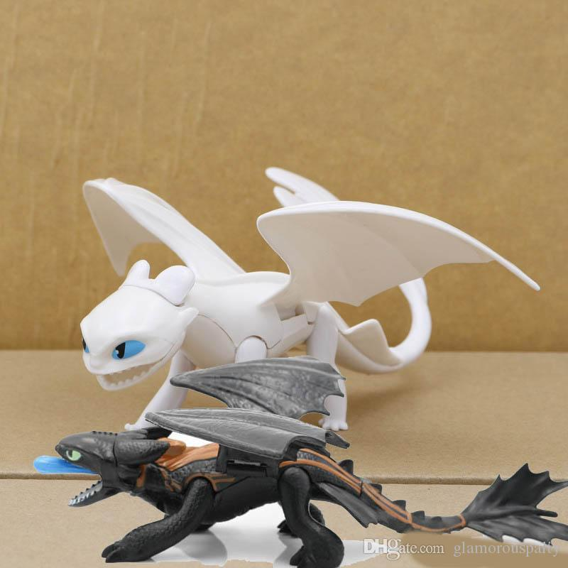 newHow To Train Your Dragon 3 Action Figures Toys Toothless Skull Gronckle Deadly Nadder Night Fury Toothless Dragon Figures kids toys