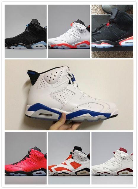 211e06e74ab203 Discount 2019 Carmine Basketball Shoes Classic 6s UNC Black Blue White  Infrared Low Chrome Women Men Sport Blue Red Oreo Alternate Black Cat  Basketball ...