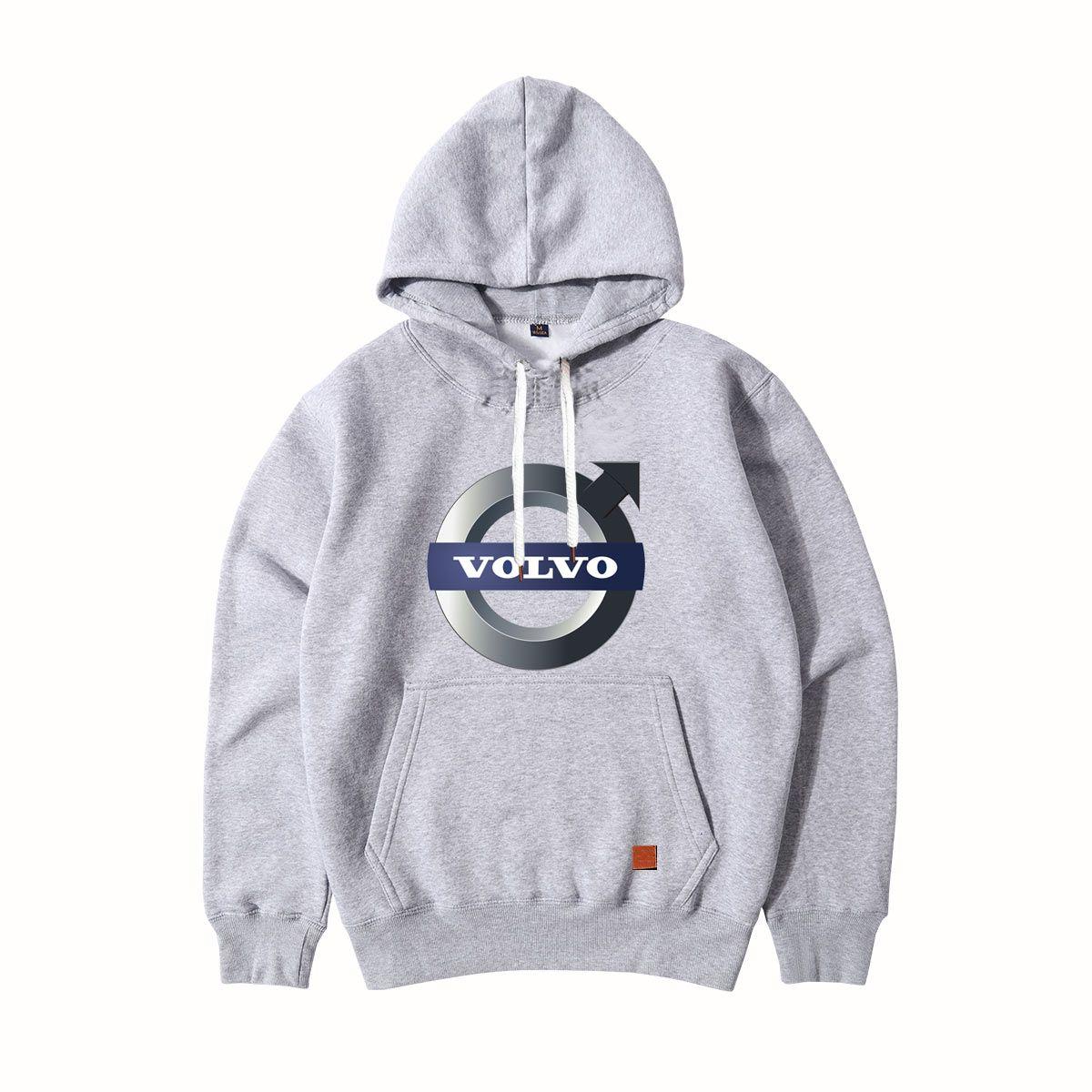 8f296cff 2019 Men Sportswear Fashion Volvo Brand Cars Logo Hoodies Pullover Hip Hop  Male Spring Autumn Tracksuit Sweatshirts Streetwear From Tophoodies, ...