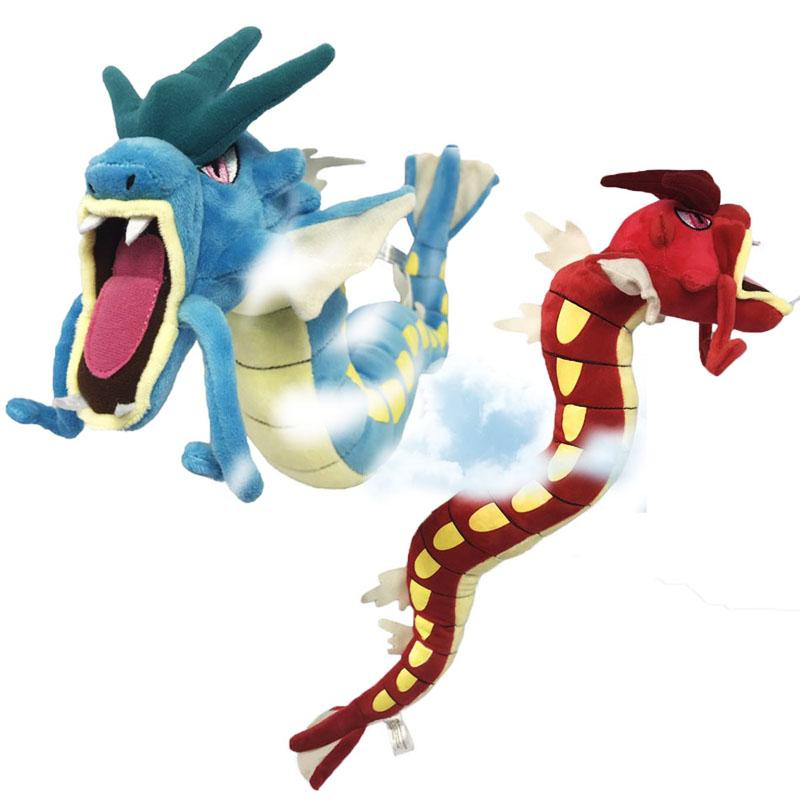 375e1a6791b 2019 22 Center Plush Toy Blue Gree Gyarados Plush Toys Doll Soft Stuffed  Animals Brinquedos Gift For Children From Lakeball