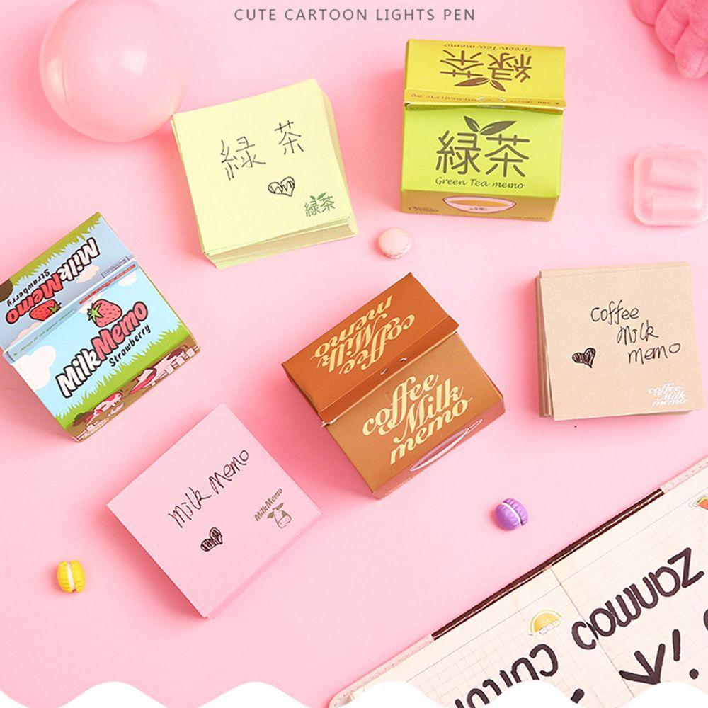 Office & School Supplies Notebooks & Schreibblöcke Liefern Neue Nette Kawaii Feder Haftnotizen Notizblock Note Für Kinder Schreibwaren Geschenk Koreanische Briefpapier Studenten StraßEnpreis