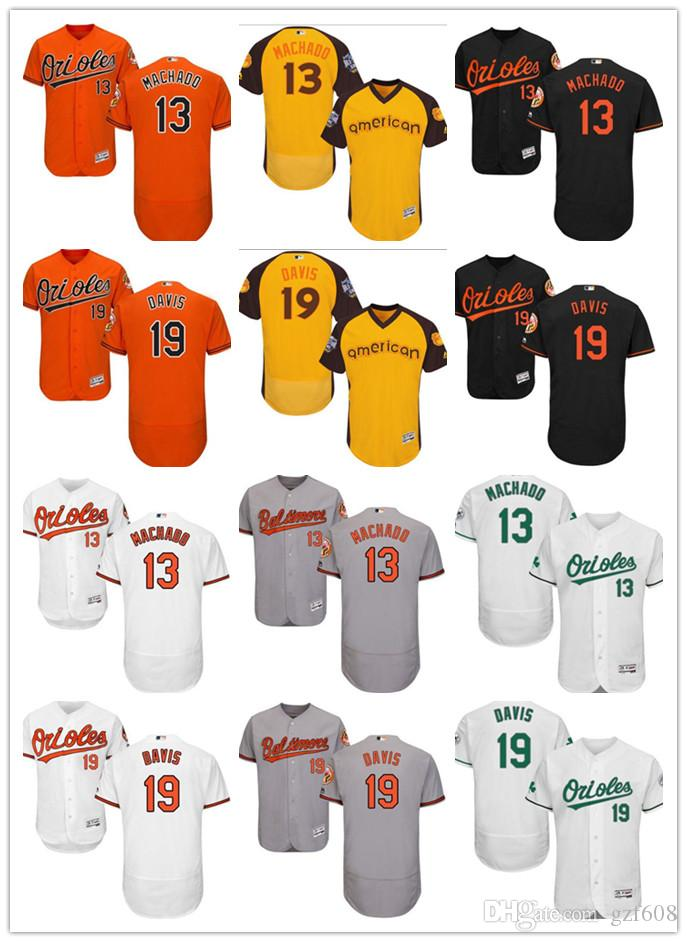 bc751f0db baltimore orioles jerseys orioles cool base jersey uniforms fansedge  2019  custom mens women youth baltimore orioles jersey 13 manny machado 19 chris  davis ...