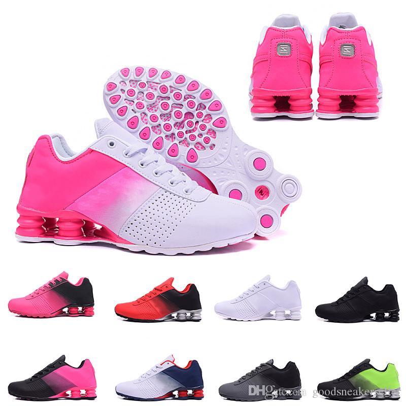 more photos 6006e 12463 Acheter Nouveau Style Shox Deliver 809 Chaussures De Course Pour Hommes  Femmes Marque DELIVER OZ NZ Marque Sneakers Athlétique Formateurs Triple S  Sports ...