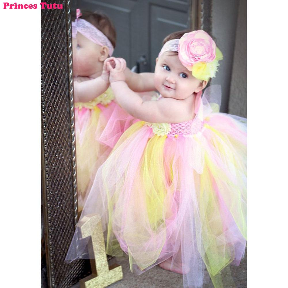 2019 cute baby girl halter pink lemonade birthday wedding tutu dress ankle length child kids winter autumn outfit clothes from singnice 34 74 dhgate com