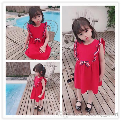 2d991b6f963c 2019 New Arrive 2019 Baby Girl Summer Dress Luxury Dresses Kids 100%cotton  Dress Girl Party Dress From Running_sport, $77.39 | DHgate.Com