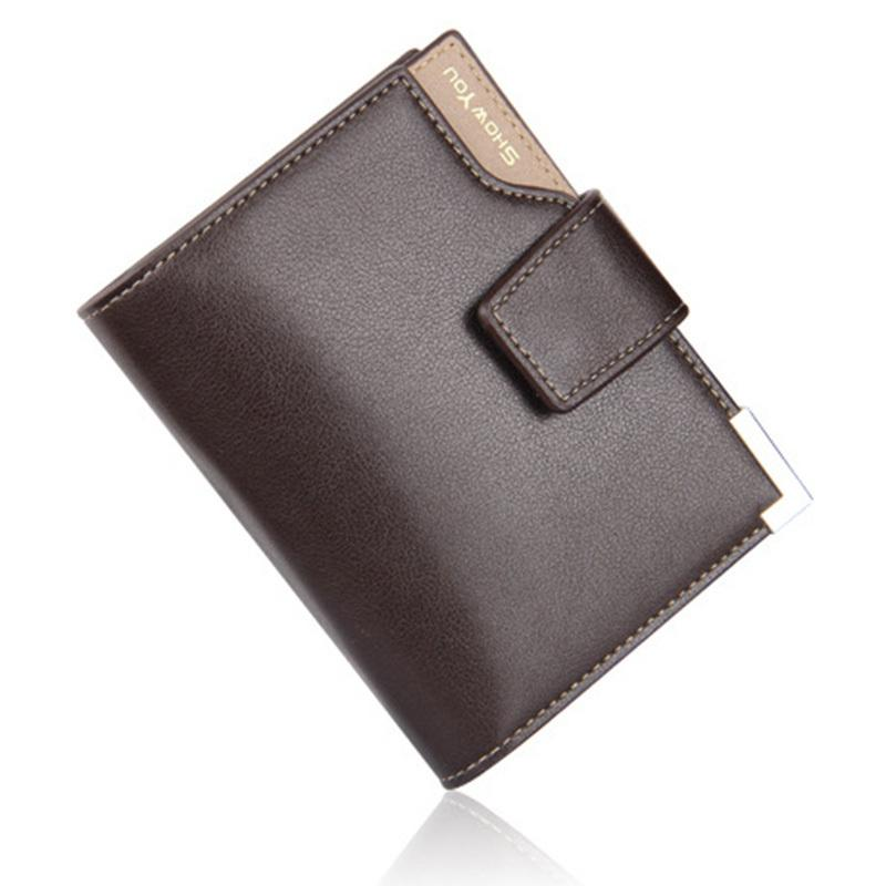 Men Leather Multifunction Hasp Pocket Holder Small Purses Cards Fa1 Wallet Purse Pu Zipper Coin yfgbY76