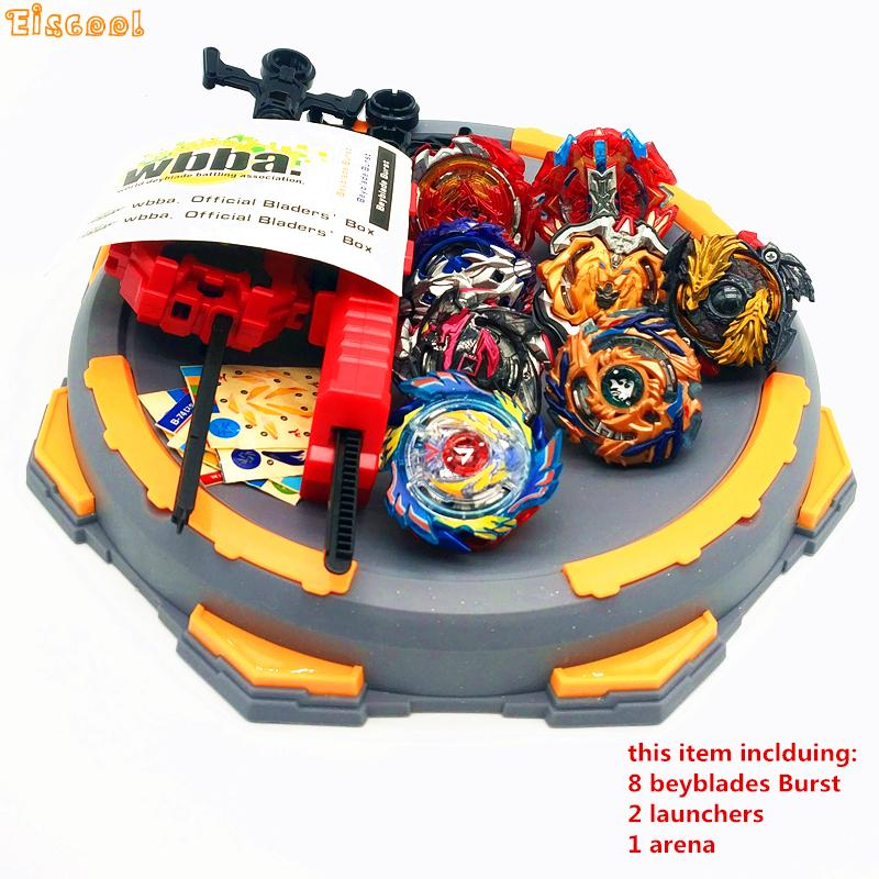 Beyblade Burst Toys With Launcher Starter and Arena Bayblade Metal Fusion God Spinning Top Bey Blade Blades Toys Drop shipping kkkk